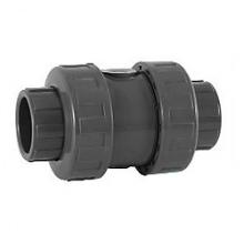 обратный клапан с 2-мя разъемными муфтами с пружиной 40 мм 1600040 Coraplax (Испания)