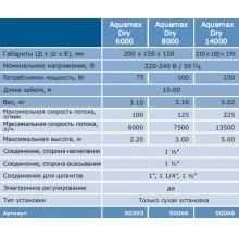 насос для пруда oase aquamax dry 6000 50393 Oase (Германия)