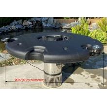 Плавающий фонтан-аэратор Jebao FJ-600, с насосом и 6-ю светильниками