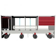 фотоЧетырехкамерный проточный фильтр для пруда AquaKing Red Label 4 Chamber Filter 12000