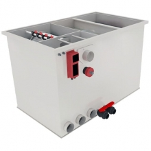 Комбинированный барабанный фильтр для пруда (УЗВ) AquaKing Red Label Combi Drum 25/30 Basic 2 XL
