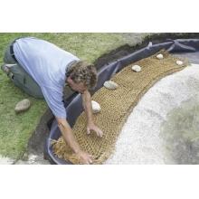 кокосовая сетка oase, ширина 1,0м (ячейка 20х20мм) 53762 Oase (Германия)