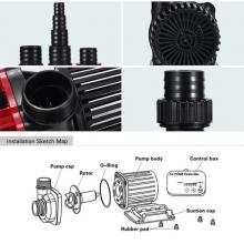 насос для пруда enjoyroyal acp-5000 с регулятором мощности 5325000 EnjoyRoyal (Китай)