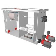 комбинированный барабанный фильтр для пруда (узв) aquaking  red label combi drum filter 20/25 L2.009 AquaKing (Нидерланды)