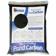 Фильтрующий наполнитель, активированный уголь SuperFish Pond Carbon, 10L