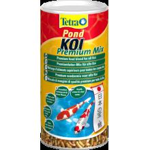 корм для рыб tetra pond koi premium mix - 1л 705947/193512 Tetra Pond (Германия)