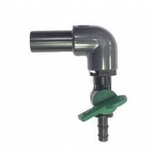 Розділювач повітря AquaKing на 1 кран, пластиковий 8/10 мм
