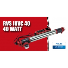 УФ-стерилізатор для ставка AquaKing Red Label RVS JUVC40W