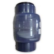 Обратный клапан ПВХ NDS (США) - D 110 мм(без пружины)