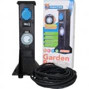 Садовая розетка SuperFish Garden Power с таймером