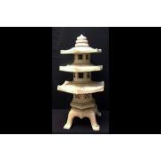 Светильник Пагода керамическая, малая