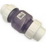 Обратный клапан ПВХ NDS (США) - D 63 мм(без пружины)