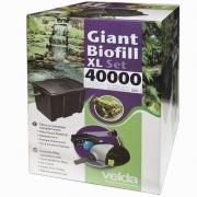 Комплект фильтрации для пруда Velda Giant Biofill XL Set 40000