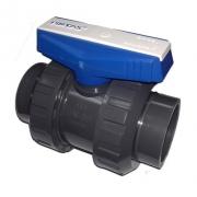 Кран шаровой двухпозиционный ПВХ Pimtas - D 16 мм