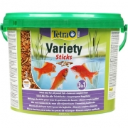 Корм для рыб TetraPond Variety Sticks - 10л/1650гр