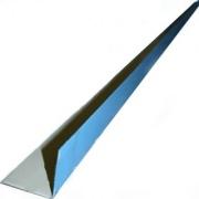 металлический уголок с пвх-напылением, наружный