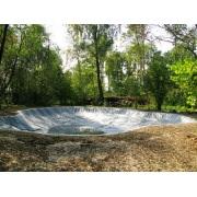 пленка для прудов, водоемов пвх, wtb elbesecur германия (1мм, шир.-2м) зеленая PVX8 Elbtal Plastics GmbH & Co. KG (Германия)