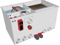 Комбінований барабанний фільтр для ставка (УЗВ) AquaKing Red Label Combi Drum 25/30 Basic 2 XL