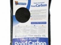 Фільтруючий наповнювач, активоване вугілля SuperFish Pond Carbon, 10L